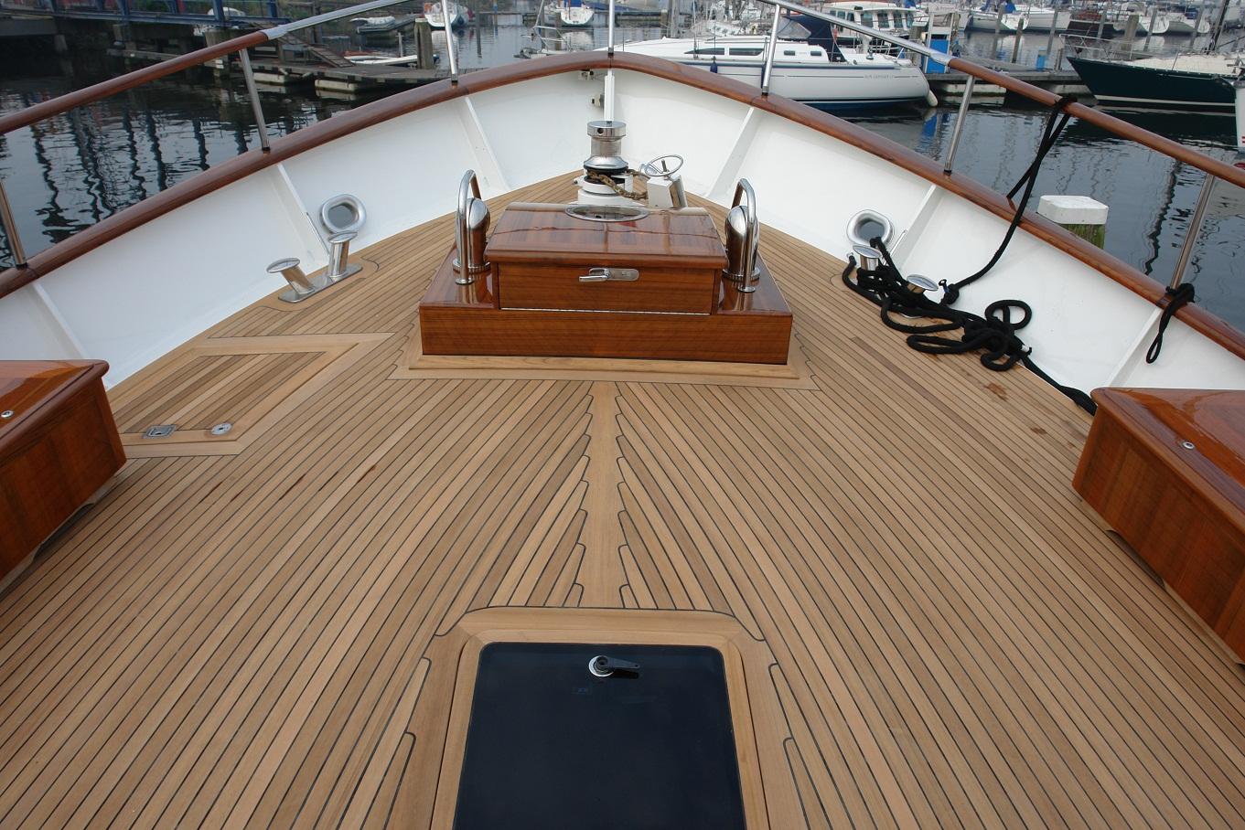Refit Bontekoe Rob Fritz Interieur En Jachtbetimmering